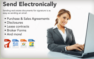 DocuSign electronic signature