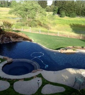 Elk Grove Home with a pool