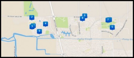 Stockton Homes for Sale - Park East and West Neighborhood