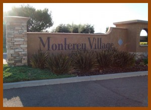 Monterey Village Gated Community in Elk Grove